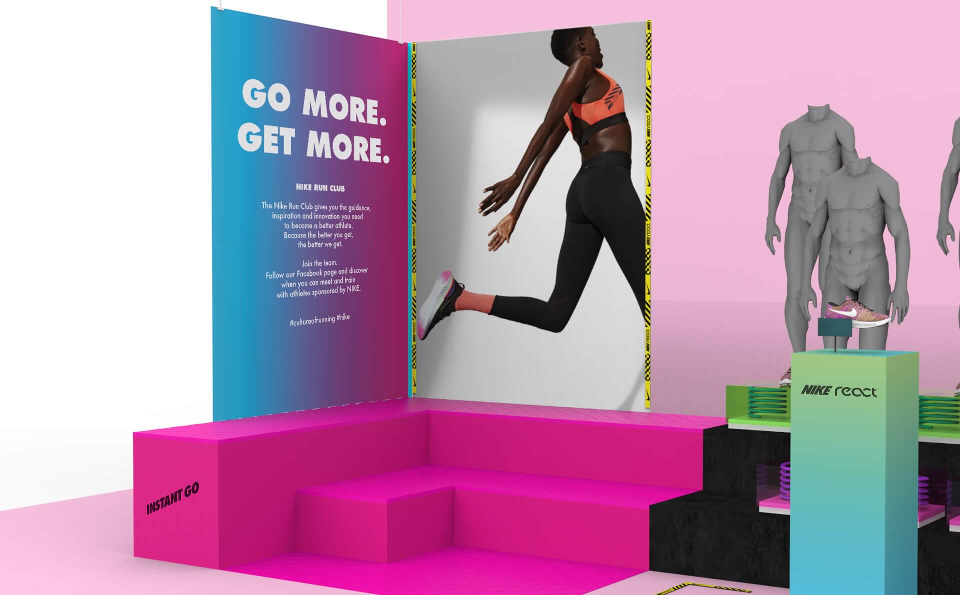 dinámica Correo Tranquilidad  Nike React SP 2019 - Proposal • Hola Studio